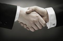 uścisnąć ręki Zdjęcie Stock
