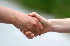 uścisnąć ręki Fotografia Stock