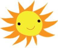 Uśmiechów żółci wschody słońca śliczni 2 Obrazy Royalty Free