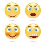 uśmiecha się ikona wektor Fotografia Royalty Free