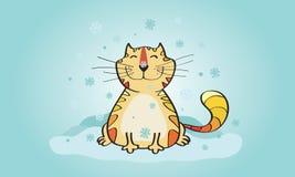 uśmiecha się kota Obrazy Royalty Free