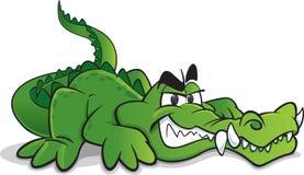 Uśmiechający się krokodyl Fotografia Royalty Free