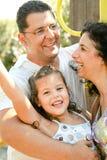 uśmiecham się ja target1755_0_ rodziny Fotografia Royalty Free