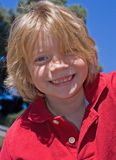 uśmiechnął się dzieciaku Zdjęcia Stock