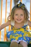 uśmiechnięci dziewczyn potomstwa Zdjęcie Stock