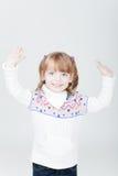 uśmiechnięci dziewczyn potomstwa zdjęcie royalty free