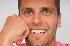uśmiechnięci mężczyzna potomstwa Fotografia Stock