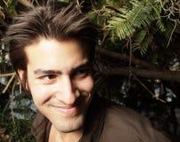uśmiechnięci mężczyzna potomstwa Zdjęcie Royalty Free