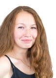 uśmiechnięci młodych dziewcząt Obraz Stock