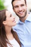 uśmiechnięci młodych par Obraz Royalty Free