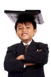 uśmiechnięci młodych przedsiębiorców Zdjęcia Stock