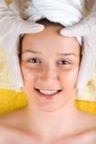 uśmiechnięci zdroju kobiety potomstwa Zdjęcie Royalty Free