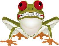 Uśmiechnięta żaba Zdjęcia Royalty Free