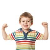 Uśmiechnięta chłopiec zdjęcia royalty free