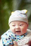Uśmiechnięta chłopiec Obraz Royalty Free