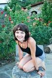 Uśmiechnięta dziewczyna Obraz Stock