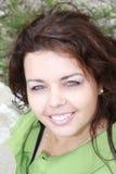 uśmiechnięta kobieta Obraz Stock