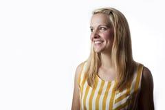 uśmiechnięta kobieta Obrazy Stock