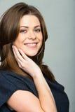 Uśmiechnięta kobieta zdjęcie stock