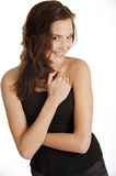 uśmiechnięta kobieta Zdjęcia Royalty Free