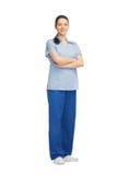 Uśmiechnięta kobiety lekarka Obrazy Stock