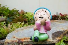 Uśmiechnięta lala Zdjęcie Stock