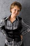 Uśmiechnięta piękna kobieta Fotografia Royalty Free