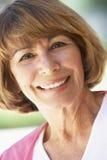 uśmiechnięta portret kobieta zdjęcie stock