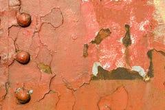 Uśmiechnięta rdza na metal budowie Zdjęcie Stock