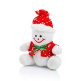 Uśmiechnięta Rodzajowa Bożenarodzeniowa bałwan zabawka Obraz Stock