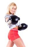 uśmiechnięta sprawności fizycznej kobieta zdjęcie stock