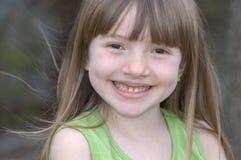 uśmiechnięta twarz Obraz Royalty Free