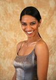 Uśmiechnięta Wschodniego indianina dama Zdjęcia Stock
