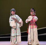 """Uśmiechniętego dziecka zakończenia przyjaciela Yingying 's choroby opery """"the Chamber†Zachodni  Zdjęcie Stock"""