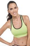 Uśmiechnięty atleta portret Obraz Stock