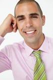 Uśmiechnięty Biznesmen zdjęcia royalty free