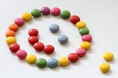 Uśmiechnięty cukierek zdjęcie royalty free