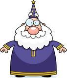 uśmiechnięty czarownik royalty ilustracja