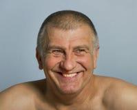 Uśmiechnięty dorosły mężczyzna fotografia royalty free