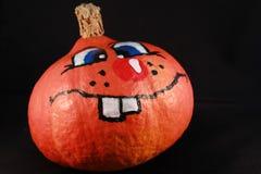 Uśmiechnięty dyniowy Halloween Obrazy Stock