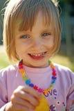 Uśmiechnięty dziecko Fotografia Stock