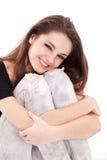 uśmiechnięty dziewczyna nastolatek Fotografia Stock