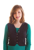 uśmiechnięty dziewczyna nastolatek Zdjęcia Stock