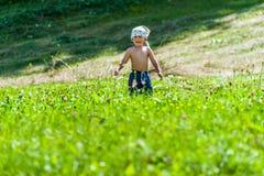 Uśmiechnięty i szczęśliwy dziecko Fotografia Stock
