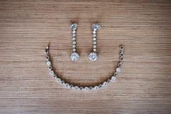 Uśmiechnięty imitaci jewellery Obraz Stock
