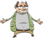 Uśmiechnięty komediant ilustracja wektor