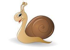uśmiechnięty kreskówka ślimaczek Obrazy Stock