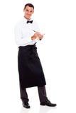 Kelner bierze rozkazy Obraz Stock
