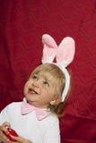 Uśmiechnięty mały królik Zdjęcia Stock