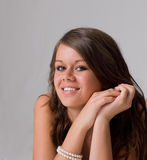 uśmiechnięty nastolatek Obraz Stock